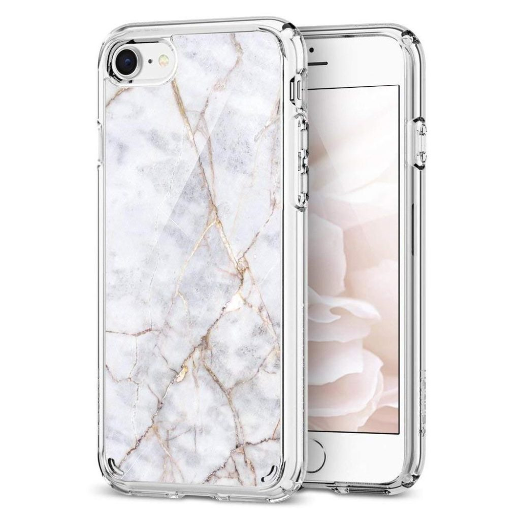 Spigen® Ultra Hybrid™ 2 054CS24049 iPhone 8 / 7 - Marble Carrara