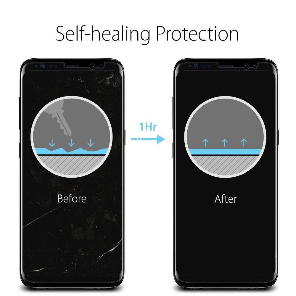 Spigen® (x2Pack) Neo Flex™ HD 565FL21701 Samsung Galaxy S8 Premium Screen Protector