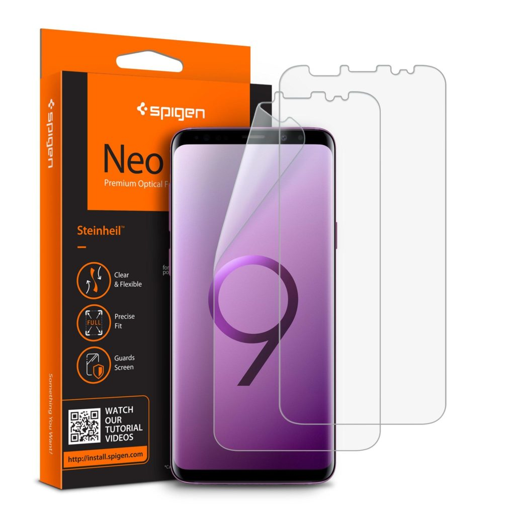 Spigen® (x2Pack) Neo Flex™ HD 592FL22815 Samsung Galaxy S9 Premium Screen Protector