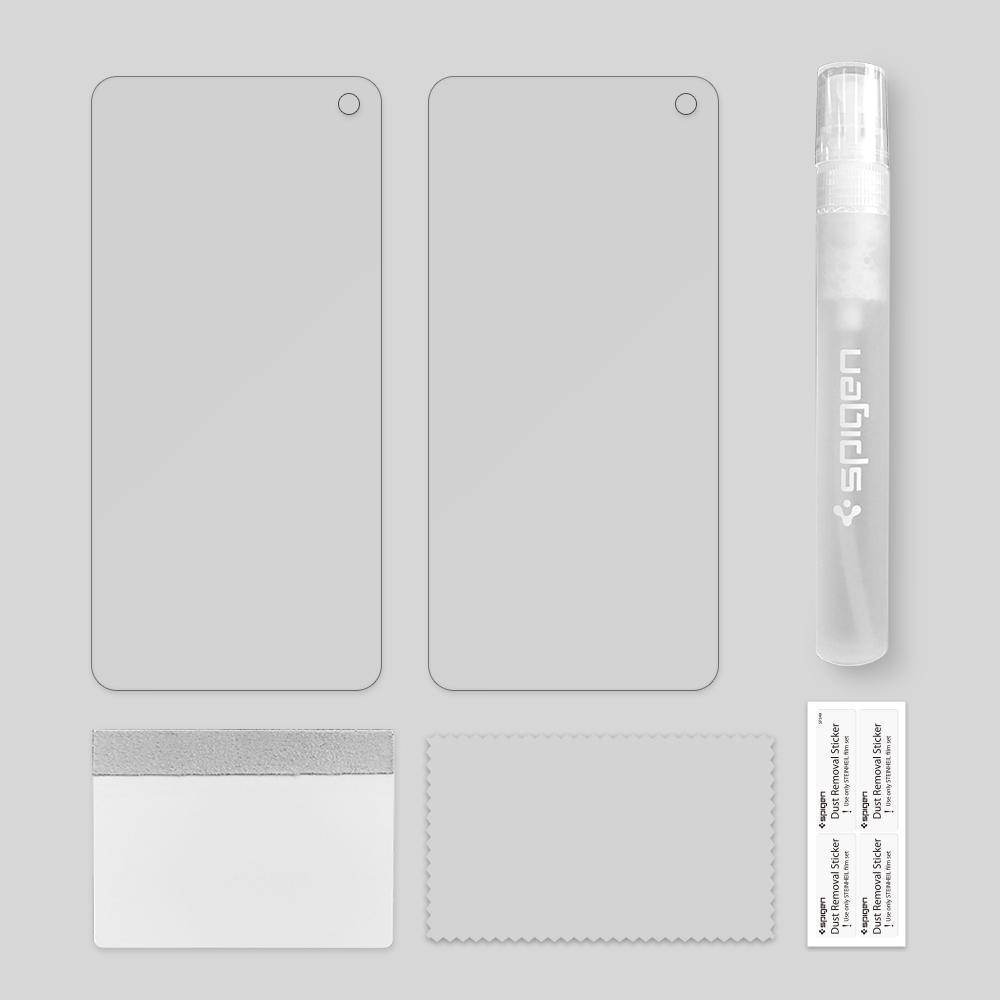 Spigen® (x2Pack) Neo Flex™ HD 605FL25696 Samsung Galaxy S10 Premium Screen Protector
