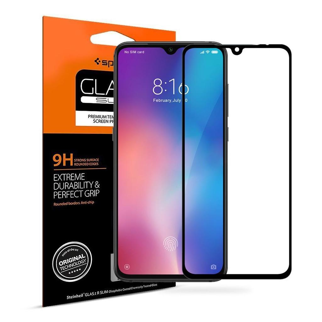 Spigen® GLAS.tR™ Full Cover S35GL26170 Xiaomi Mi 9 Premium Tempered Glass Screen Protector