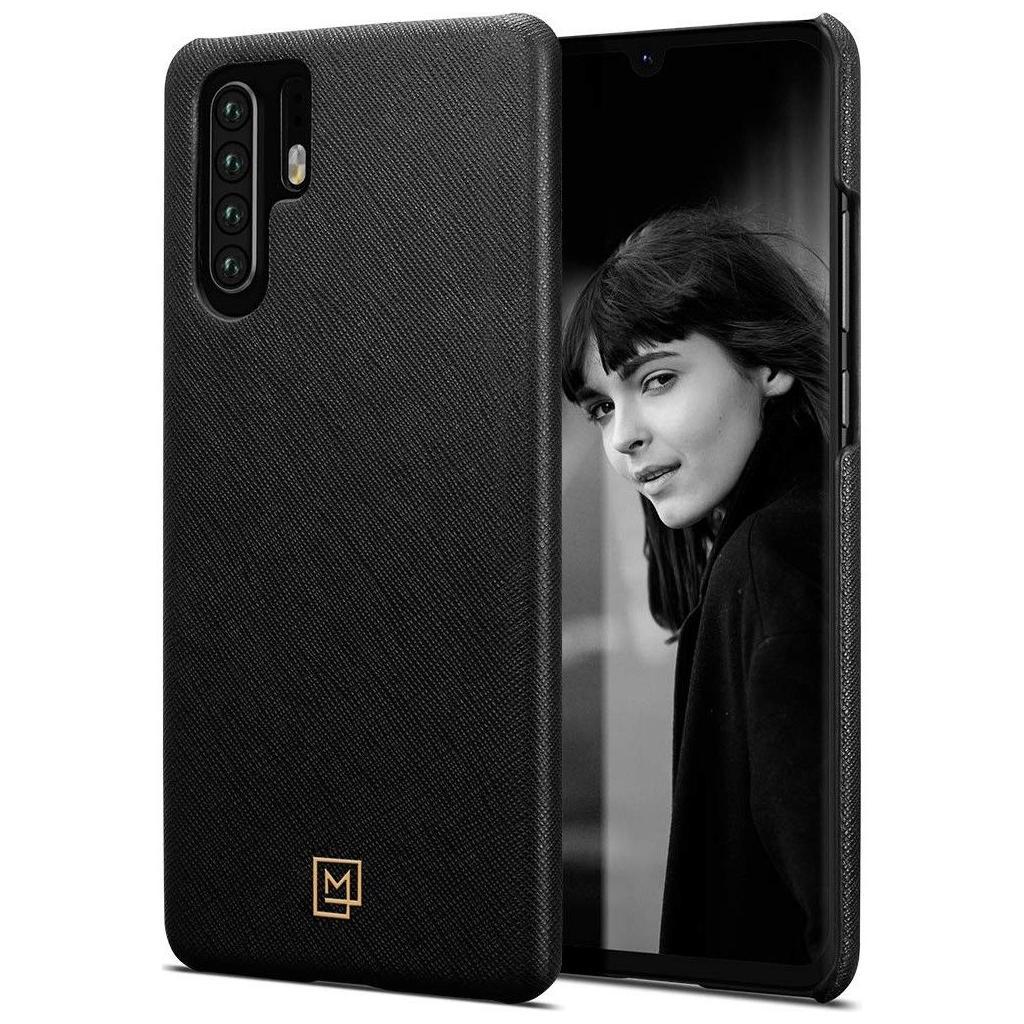 Spigen® La Manon Câlin L37CS25733 Huawei P30 Pro Case - Saffiano Black