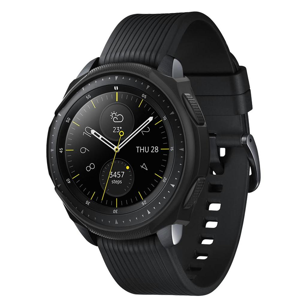 Spigen® Liquid Air™ 600CS24585 Galaxy Watch (42mm) Case - Black