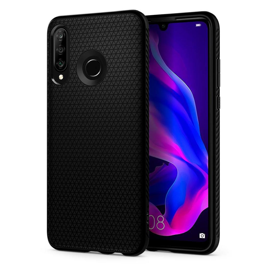 Spigen® Liquid Air™ L39CS25738 Huawei P30 Lite Case - Matte Black