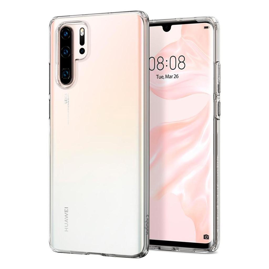 Spigen® Liquid Crystal™ L37CS25726 Huawei P30 Pro Case - Crystal Clear