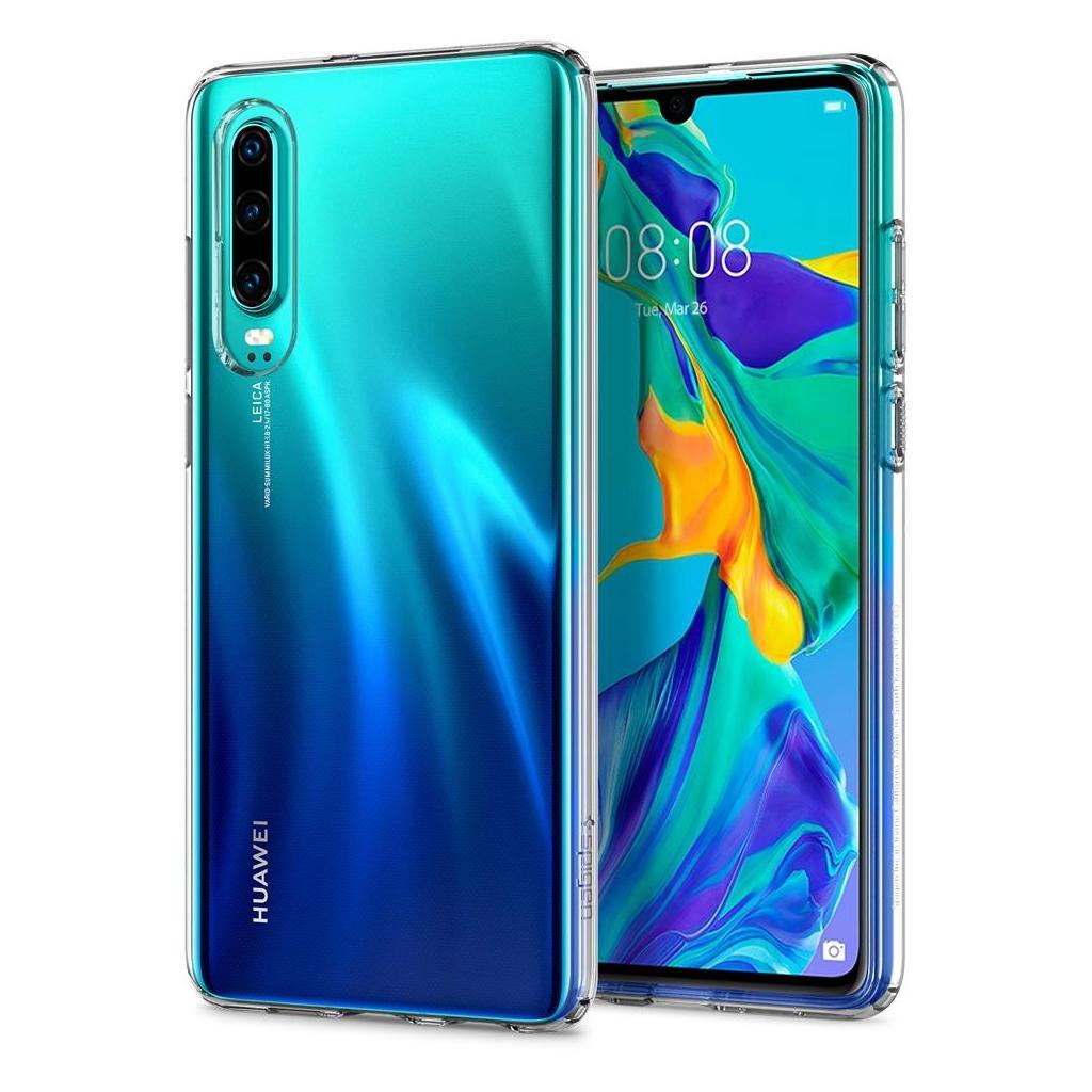 Spigen® Liquid Crystal™ L38CS25736 Huawei P30 Case - Crystal Clear