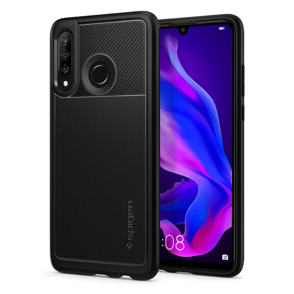 Spigen® Rugged Armor™ L39CS25739 Huawei P30 Lite Case - Matte Black