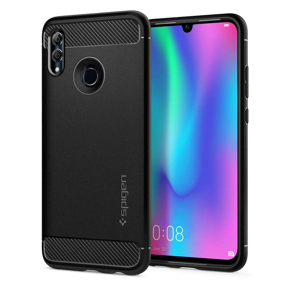 Spigen® Rugged Armor™ L40CS25949 Huawei P Smart 2019 Case - Matte Black
