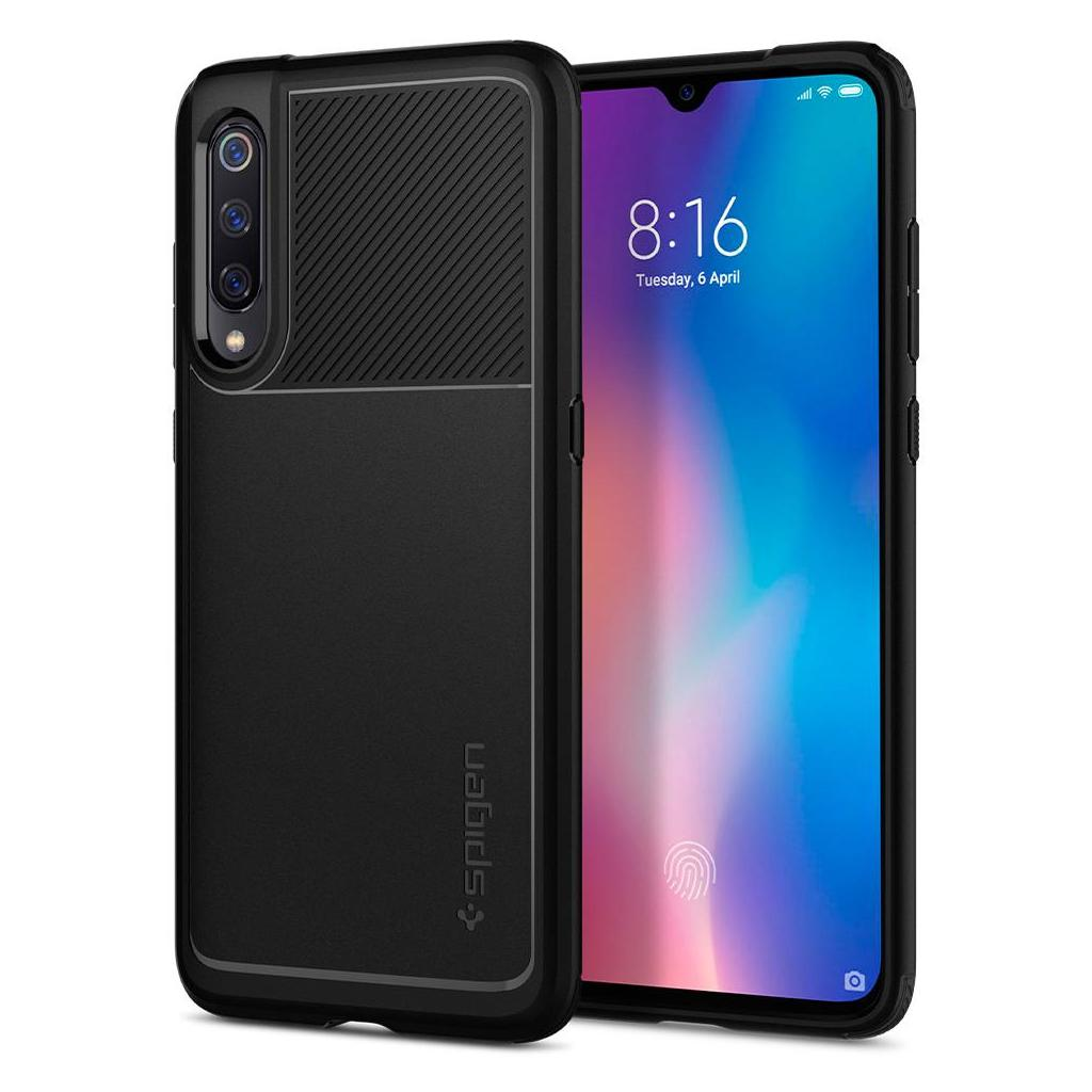 Spigen® Rugged Armor™ S35CS26089 Xiaomi Mi 9 Case - Black