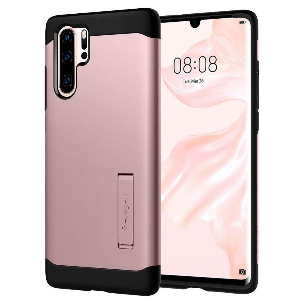Spigen® Slim Armor™ L37CS25935 Huawei P30 Pro Case - Rose Gold