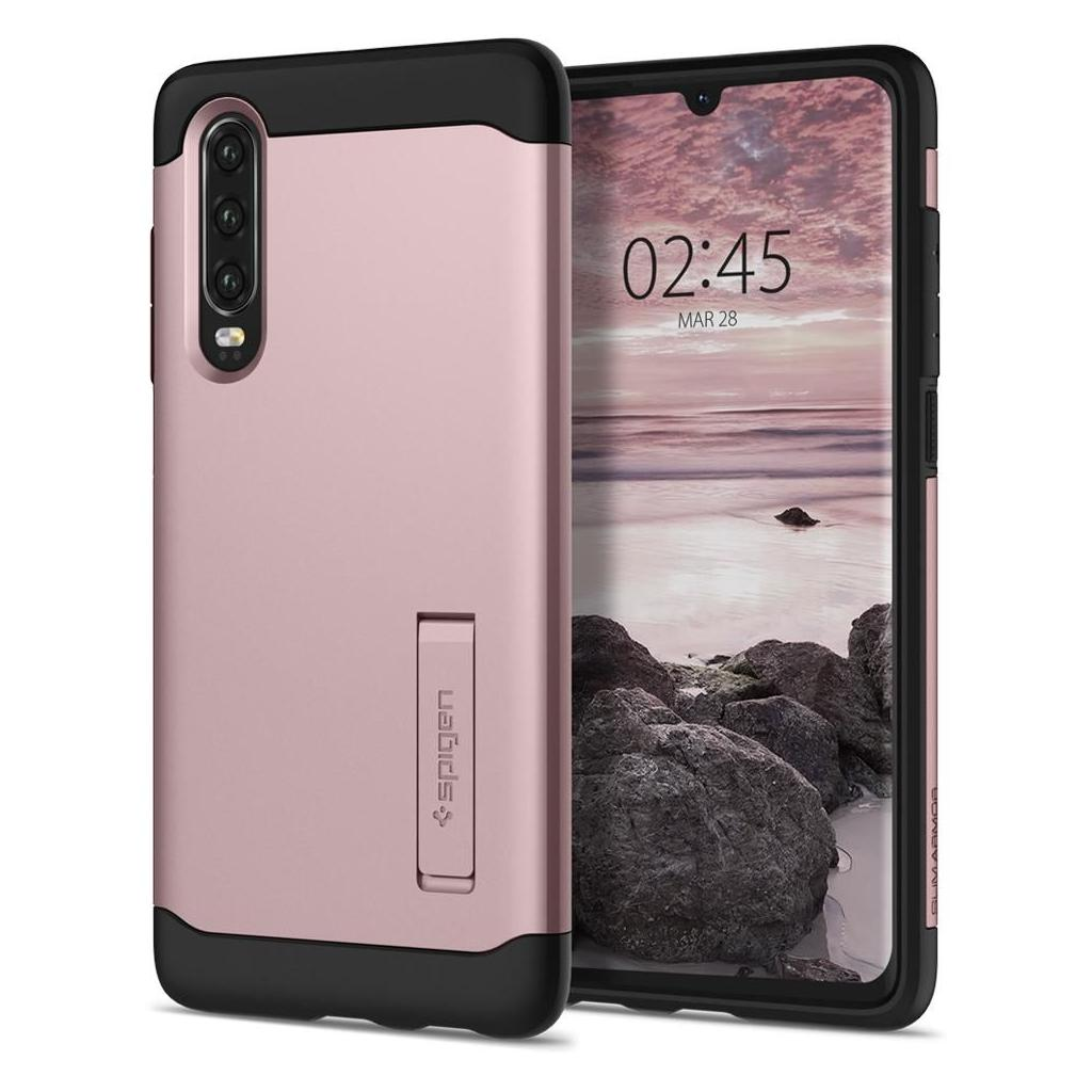 Spigen® Slim Armor™ L38CS25937 Huawei P30 Case - Rose Gold