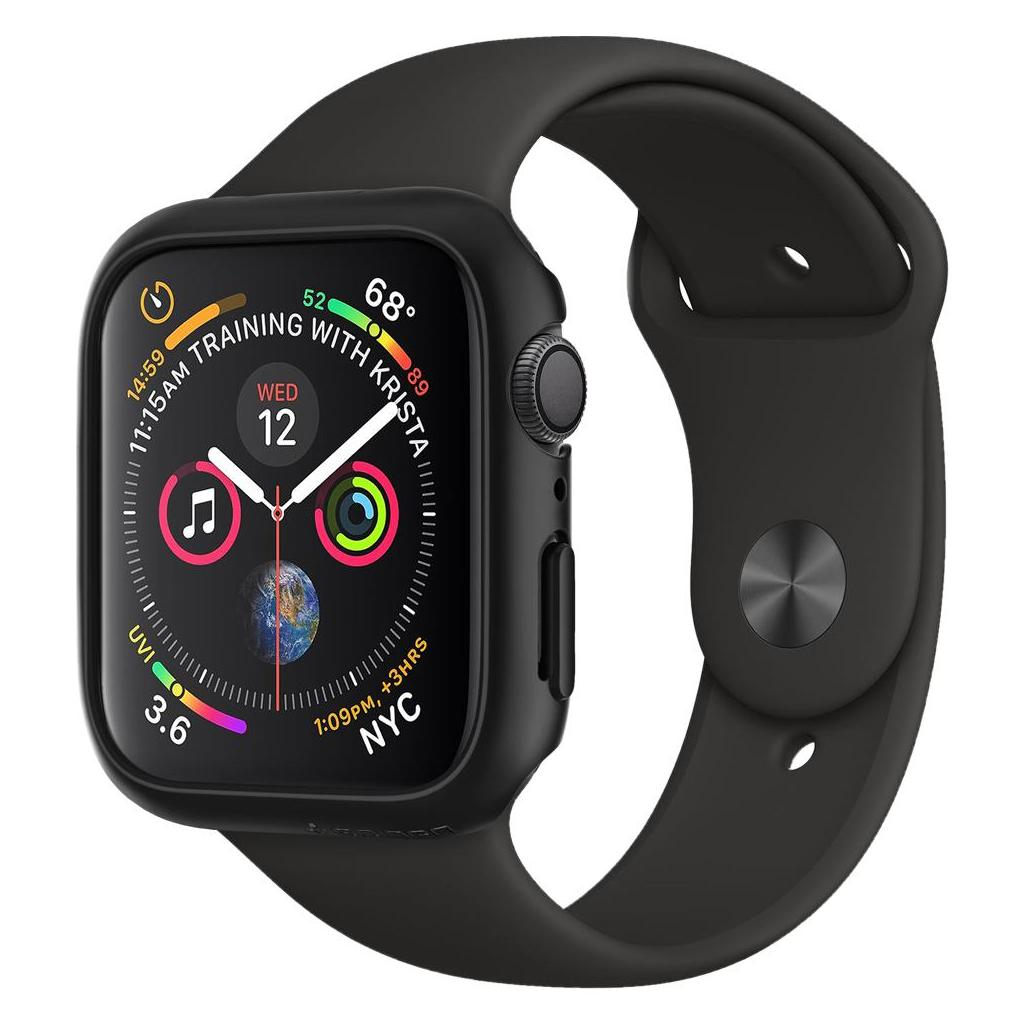 Spigen® Thin Fit™ 061CS24484 Apple Watch Series 4 (40mm) Case - Black