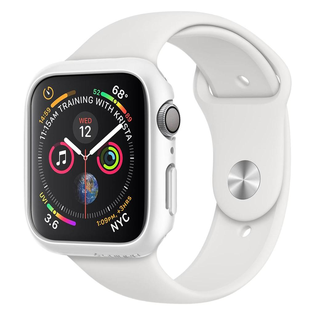 Spigen® Thin Fit™ 061CS24485 Apple Watch Series 4 (40mm) Case - White