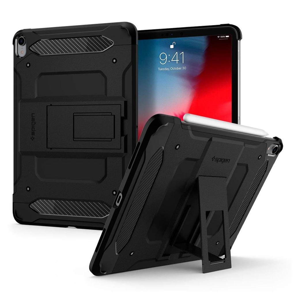Spigen® Tough Armor TECH™ 068CS25203 iPad Pro 12.9 (2018) Case - Black
