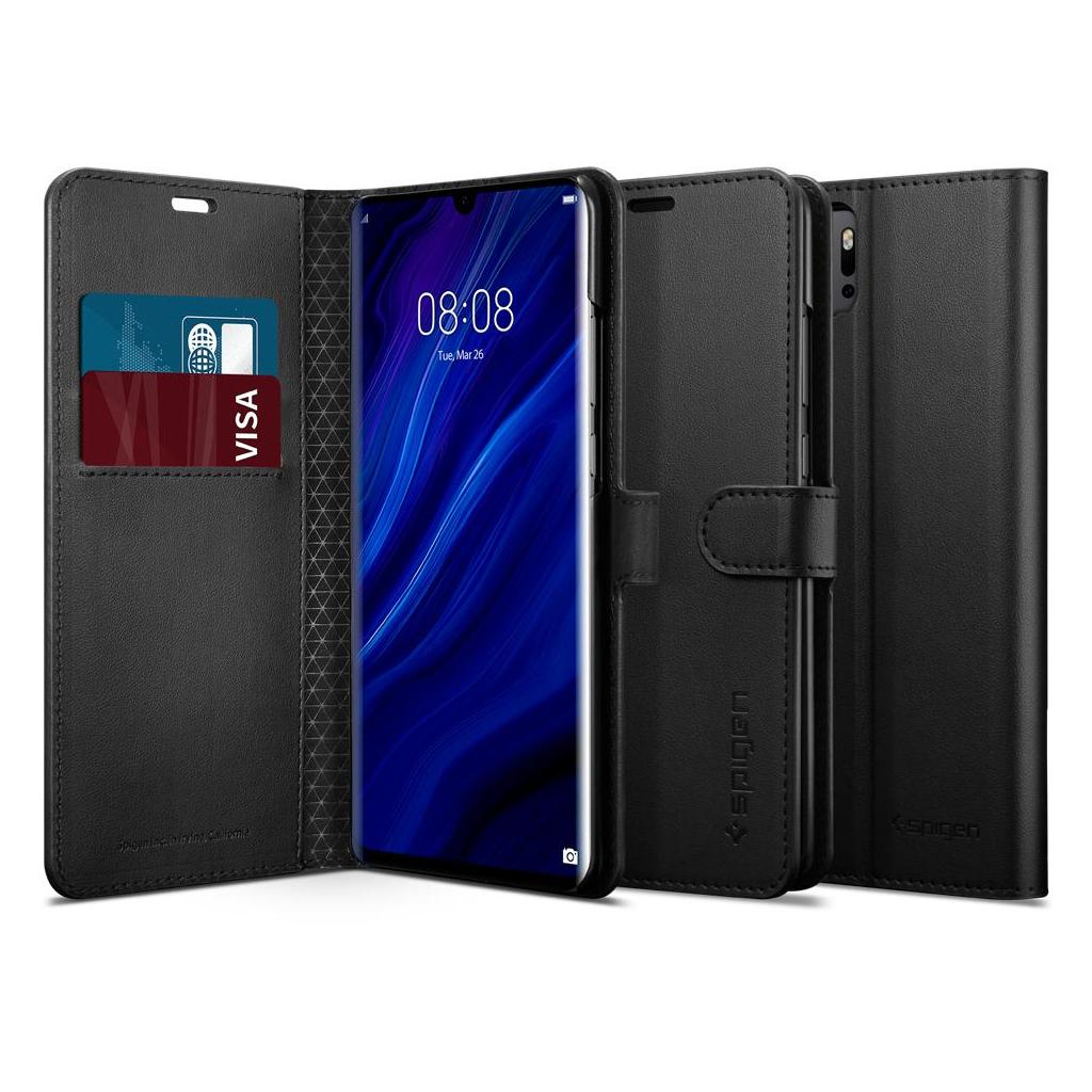 Spigen® Wallet S™ L37CS25732 Huawei P30 Pro Case - Black