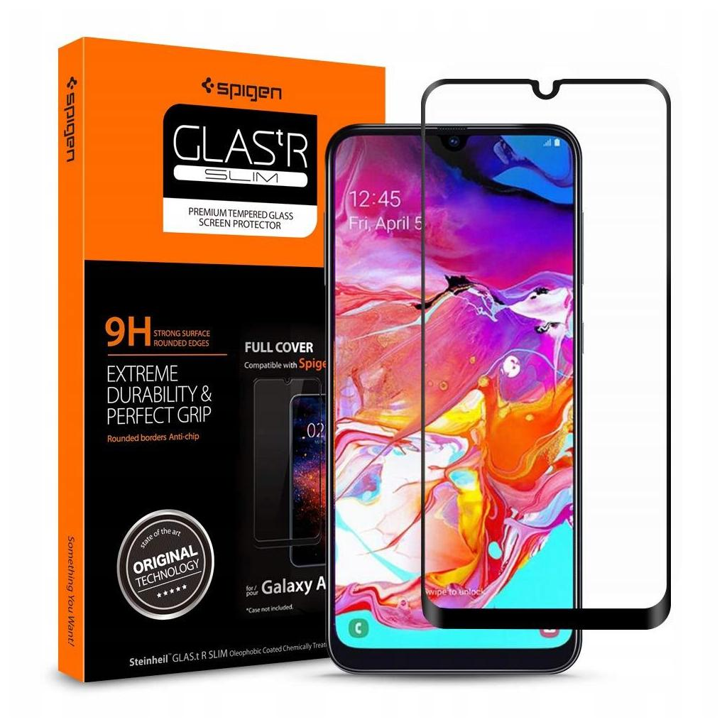 Spigen® GLAS.tR™ Full Cover 620GL26384 Samsung Galaxy A70 Premium Tempered Glass Screen Protector