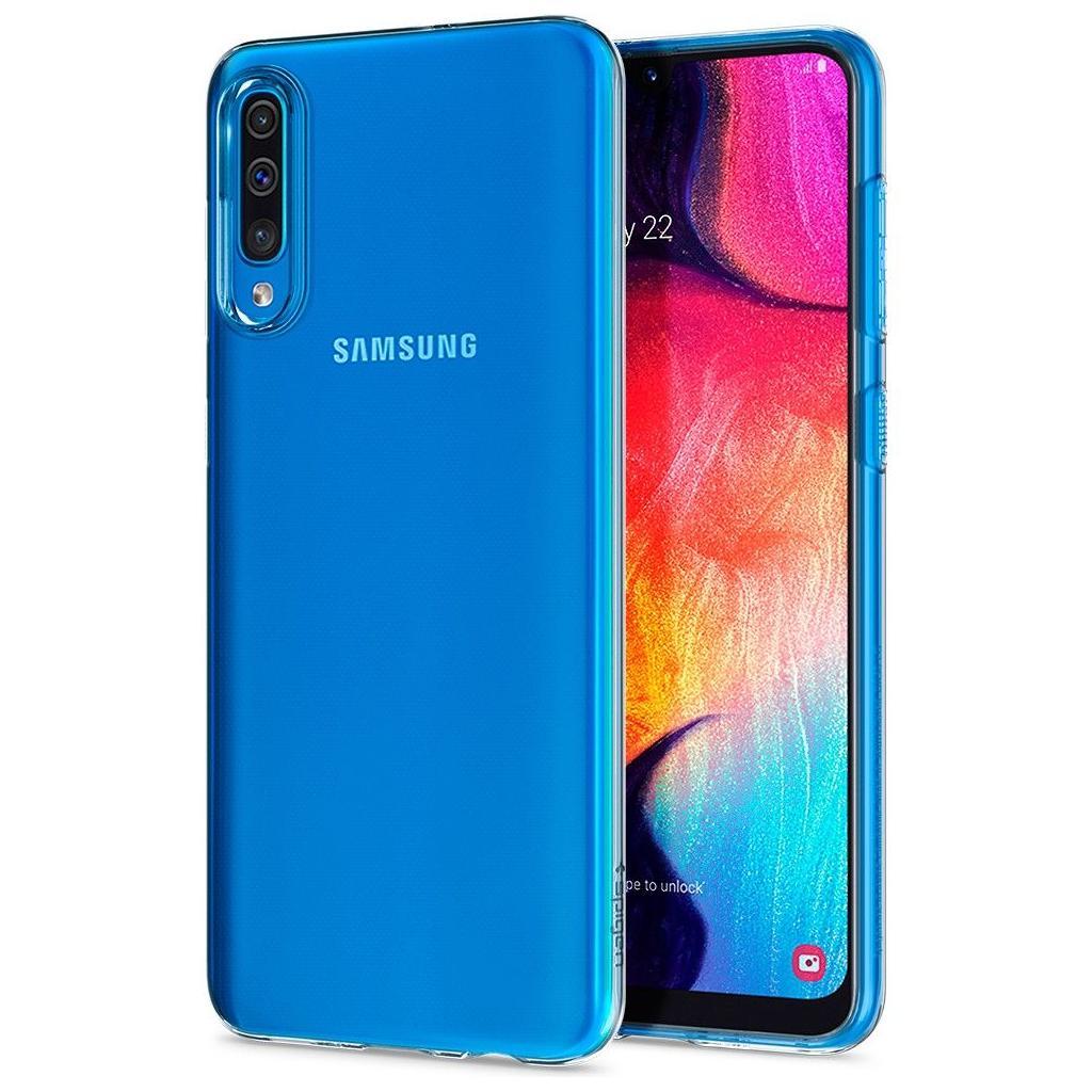 Spigen® Liquid Crystal™ 611CS26200 Samsung Galaxy A50 Case - Crystal Clear