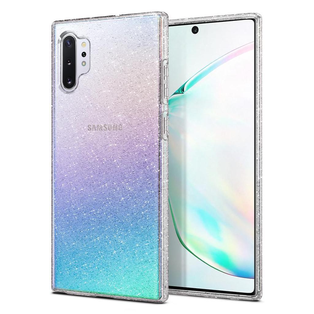Spigen® Liquid Crystal Glitter™ 627CS27328 Samsung Galaxy Note 10+ Plus Case - Crystal Quartz