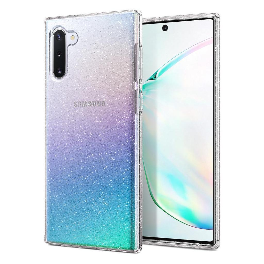 Spigen® Liquid Crystal Glitter™ 628CS27371 Samsung Galaxy Note 10 Case - Crystal Quartz