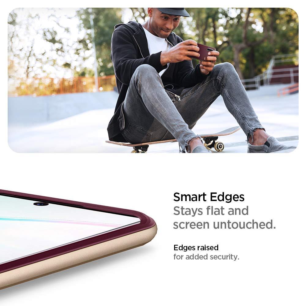 Spigen® Neo Hybrid™ 627CS27340 Samsung Galaxy Note 10+ Plus Case - Burgundy