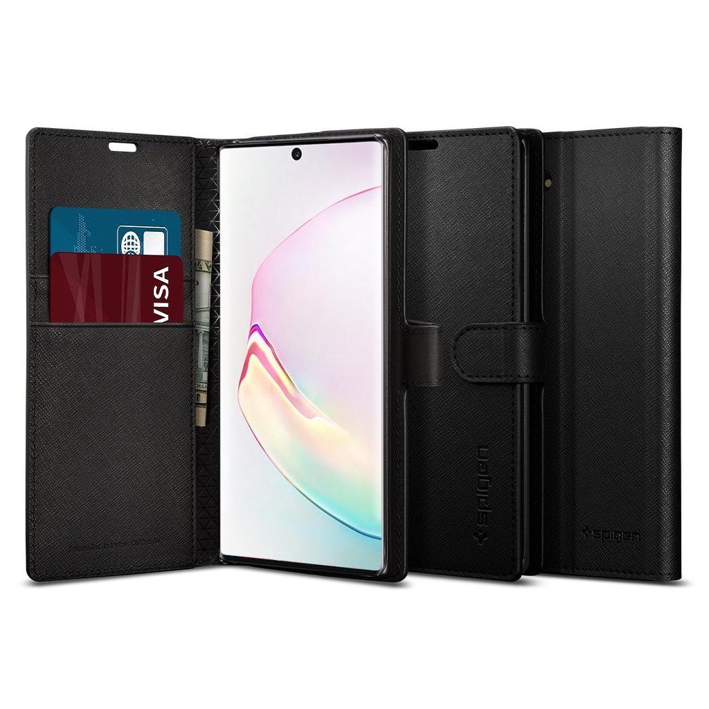 Spigen® Wallet S™ 628CS27476 Samsung Galaxy Note 10 Case - Black