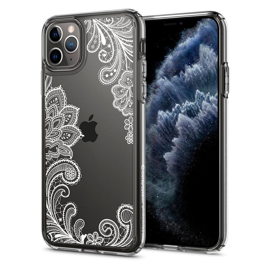 Spigen® Cecile Ciel by Cyrill Collection 075CS27167 iPhone 11 Pro Max Case - White Mandala