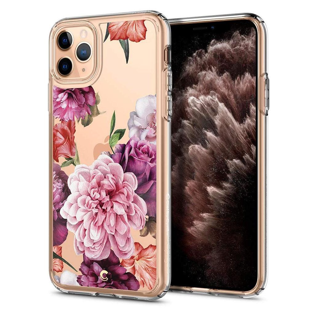 Spigen® Cecile Ciel by Cyrill Collection 077CS27264 iPhone 11 Pro Case - Rose Floral