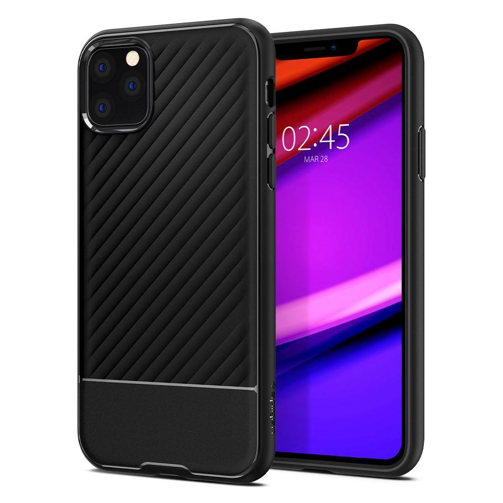 Spigen® Core Armor™ 075CS27043 iPhone 11 Pro Max Case - Black