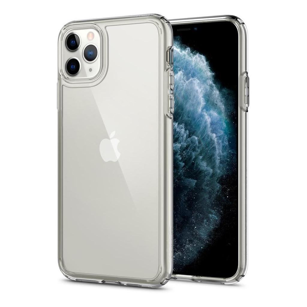 Spigen® Crystal Hybrid™ 075CS27062 iPhone 11 Pro Max Case - Crystal Clear