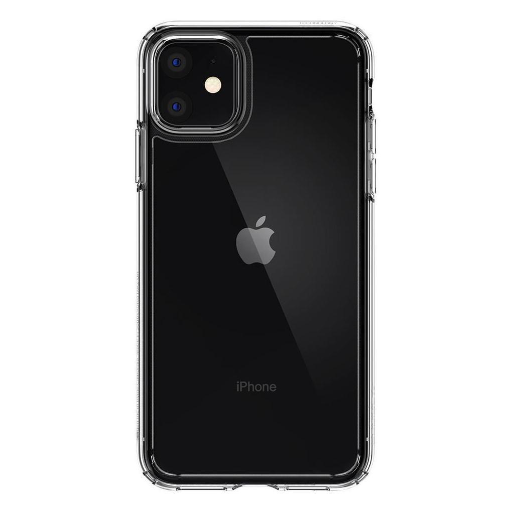 Spigen® Crystal Hybrid™ 076CS27086 iPhone 11 Case - Crystal Clear