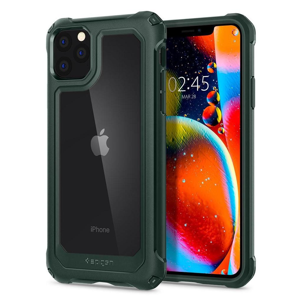 Spigen® Gauntlet 075CS27497 iPhone 11 Pro Max Case - Hunter Green