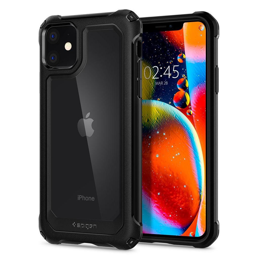 Spigen® Gauntlet ACS00064 iPhone 11 Case - Carbon Black