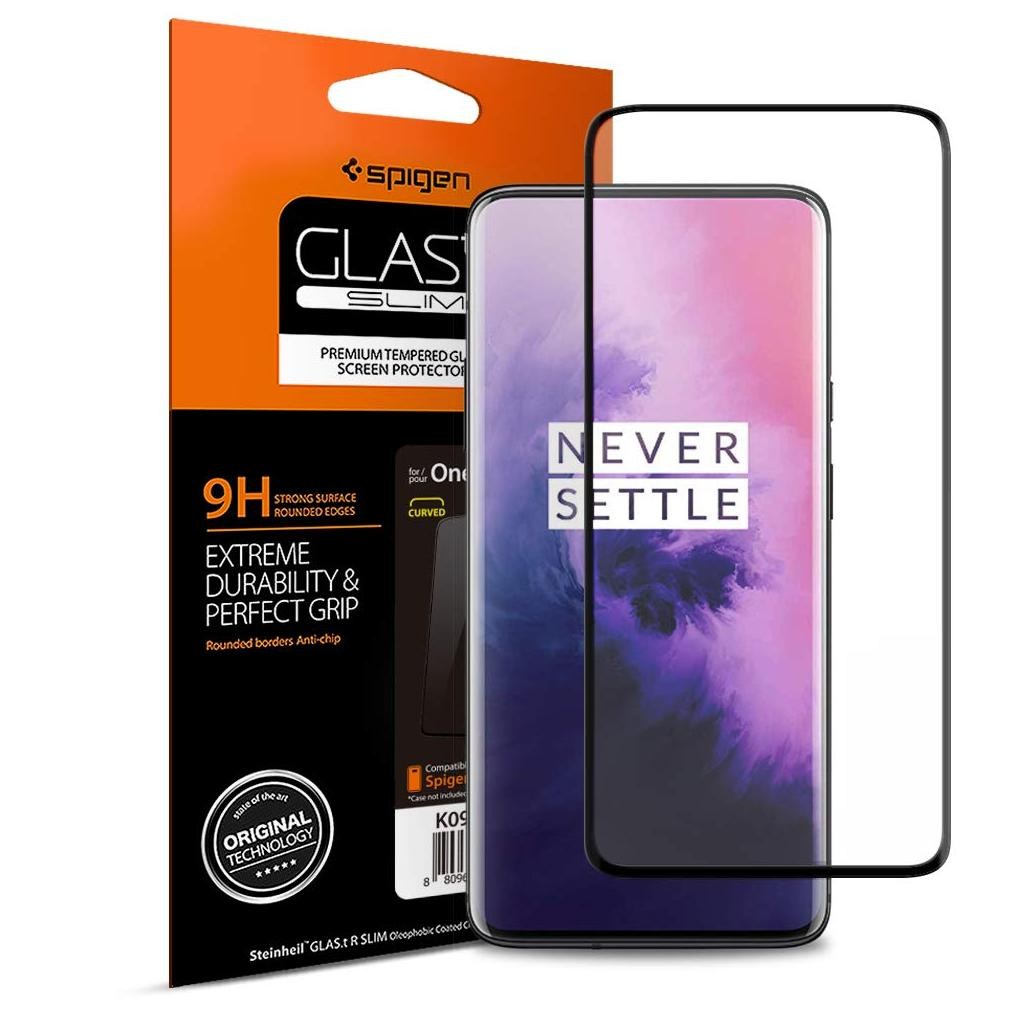 Spigen® GLAS.tR™ Full Cover K09GL26502 OnePlus 7 Pro Premium Tempered Glass Screen Protector