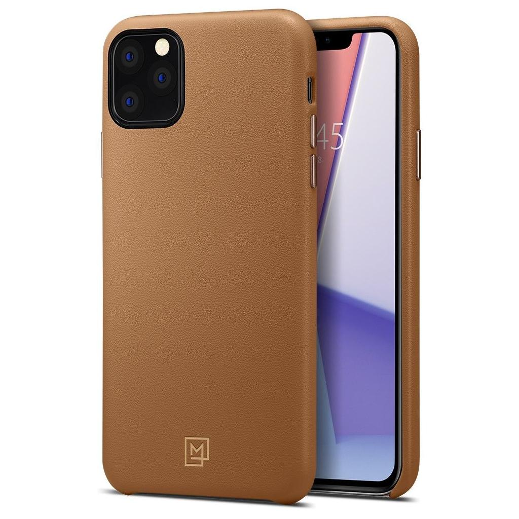 Spigen® La Manon Calin™ 075CS27067 iPhone 11 Pro Max Case - Camel Brown