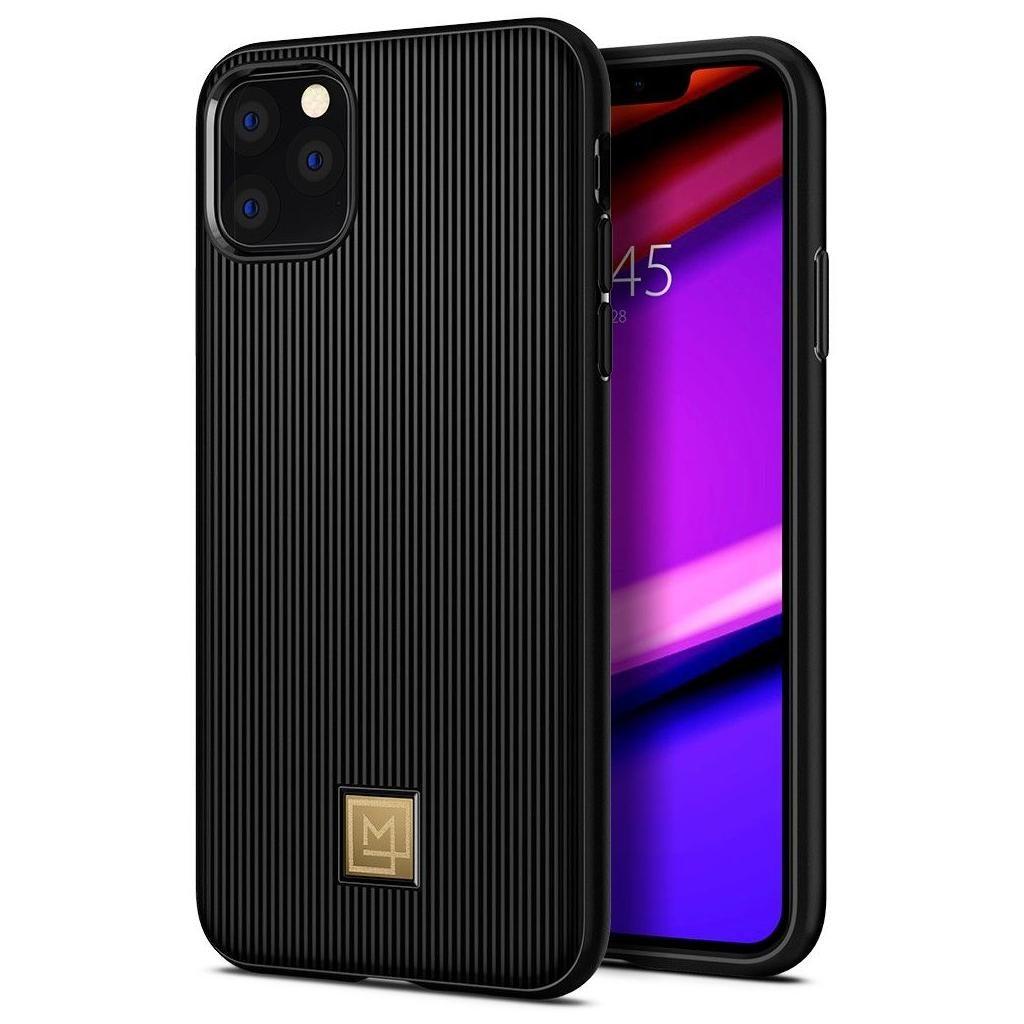 Spigen® La Manon Classy 076CS27092 iPhone 11 Case - Black