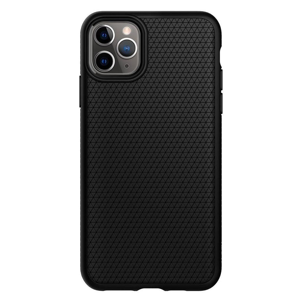 Spigen® Liquid Air™ 075CS27134 iPhone 11 Pro Max Case - Matte Black