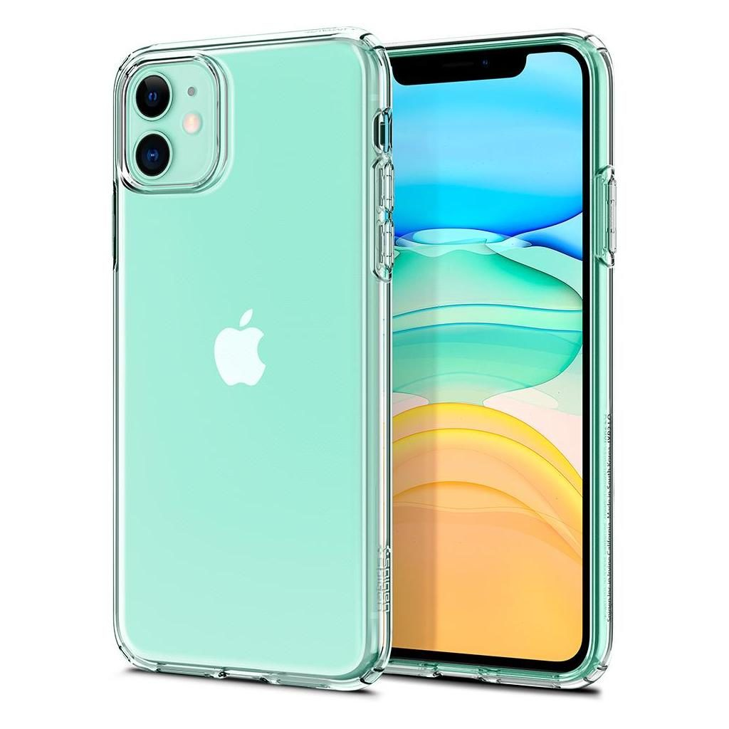 Spigen® Liquid Crystal™ 076CS27179 iPhone 11 Case - Crystal Clear