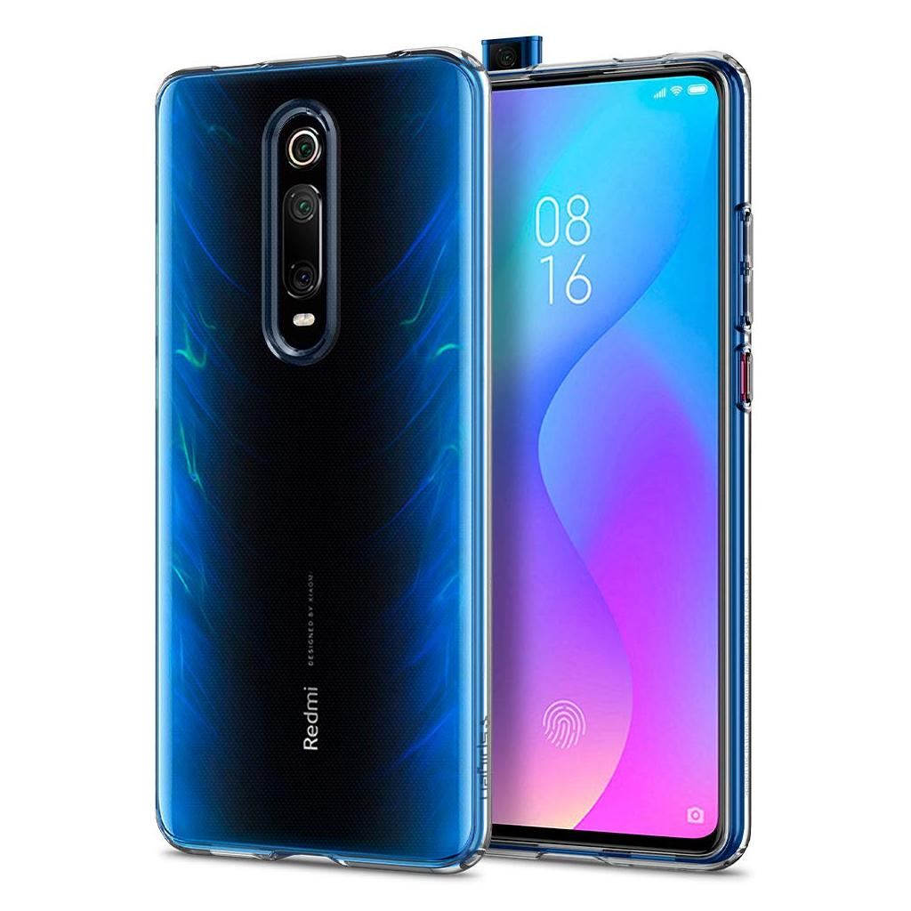 Spigen® Liquid Crystal™ S53CS26404 Xiaomi Mi 9T Case - Crystal Clear