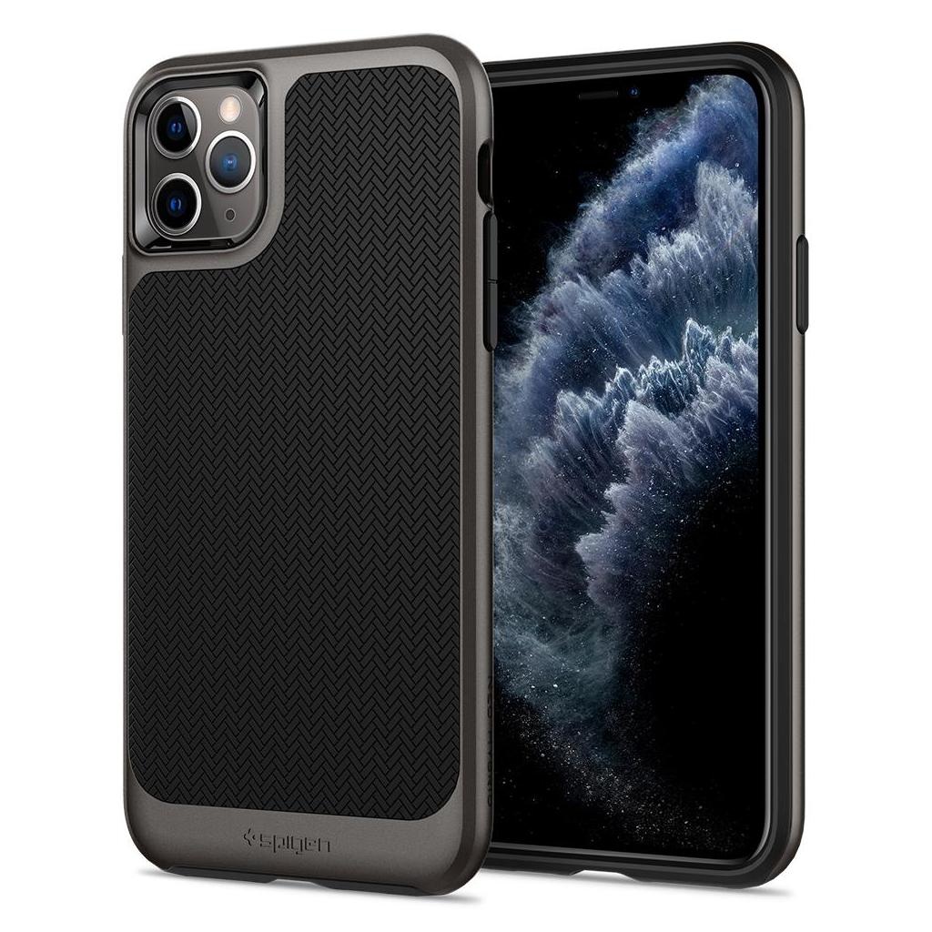 Spigen® Neo Hybrid™ 075CS27145 iPhone 11 Pro Max Case - Gunmetal