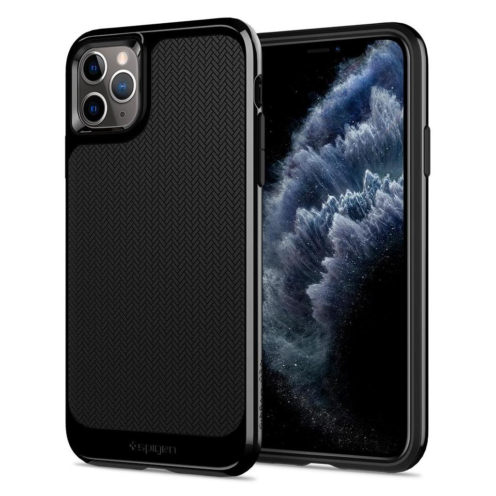 Spigen® Neo Hybrid™ 075CS27146 iPhone 11 Pro Max Case - Jet Black