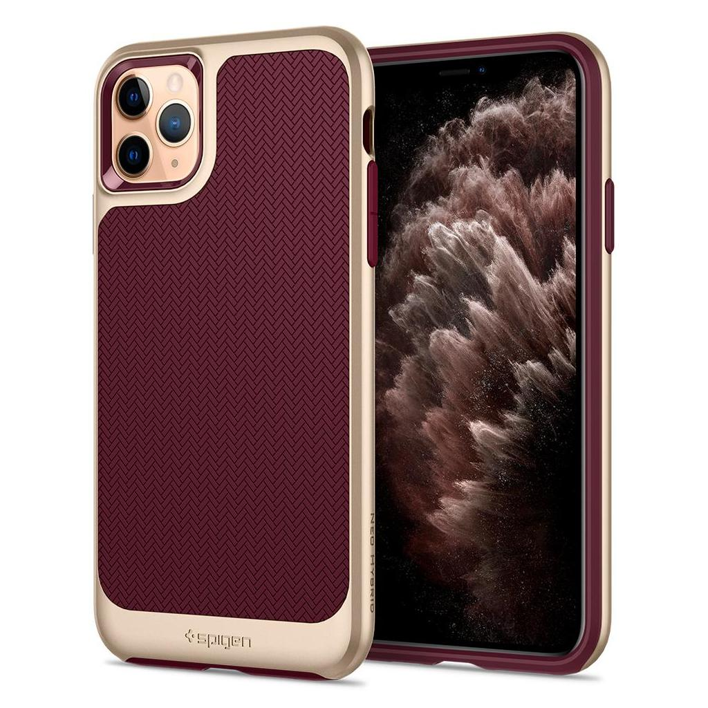 Spigen® Neo Hybrid™ 075CS27148 iPhone 11 Pro Max Case - Burgundy