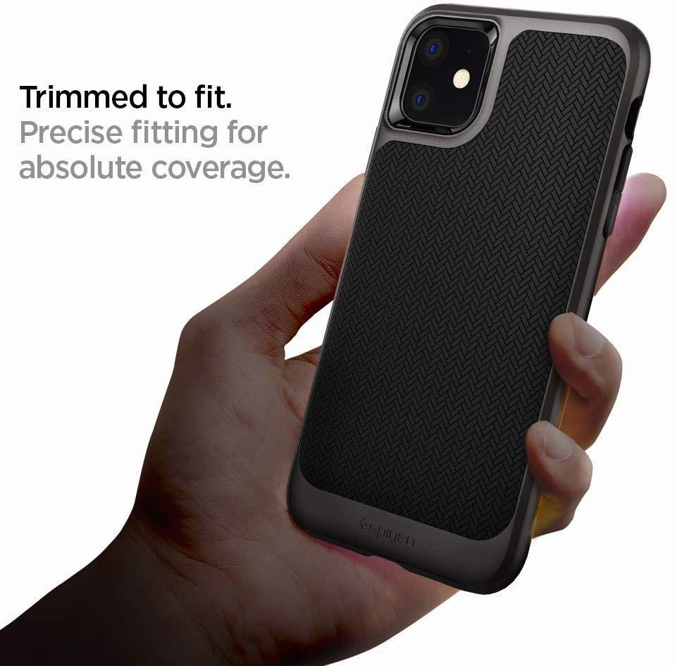 Spigen® Neo Hybrid™ 076CS27193 iPhone 11 Case - Gunmetal