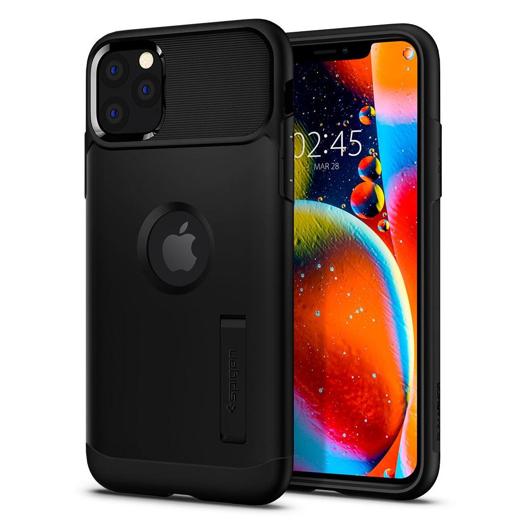 Spigen® Slim Armor™ 075CS27047 iPhone 11 Pro Max Case - Black