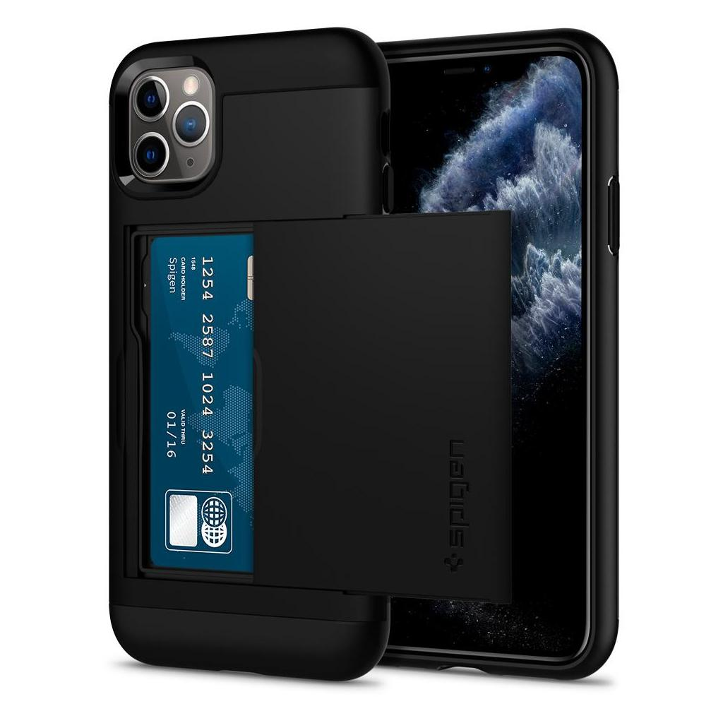 Spigen® Slim Armor CS™ 075CS27139 iPhone 11 Pro Max Case - Black