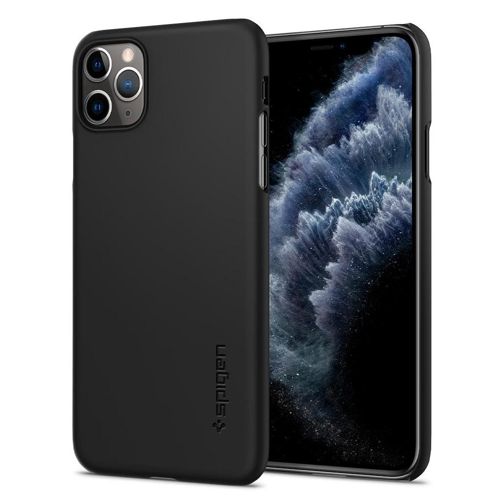 Spigen® Thin Fit™ 075CS27127 iPhone 11 Pro Max Case - Black