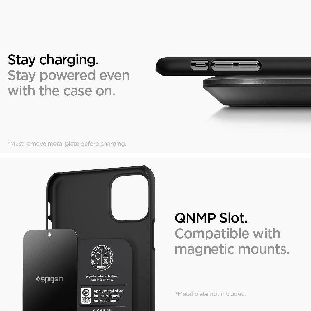 Spigen® Thin Fit™ 076CS27178 iPhone 11 Case - Black