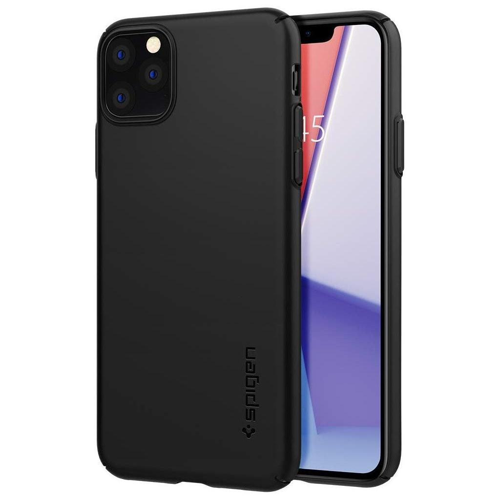 Spigen® Thin Fit Air™ ACS00066 iPhone 11 Pro Max Case - Black
