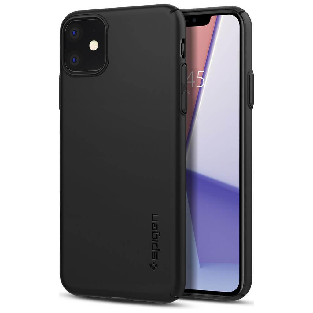 Spigen® Thin Fit Air™ ACS00067 iPhone 11 Case - Black