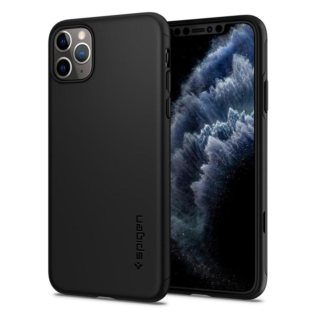 Spigen® Thin Fit Classic™ 075CS27432 iPhone 11 Pro Max Case - Black