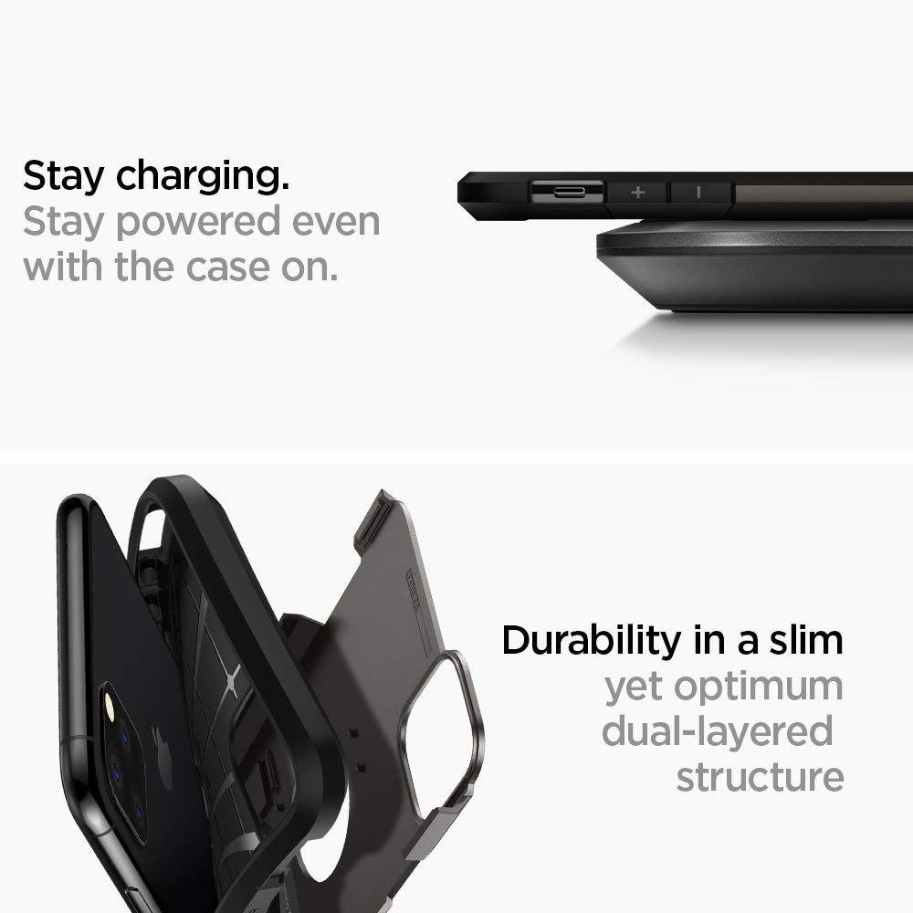 Spigen® Tough Armor™ 075CS27141 iPhone 11 Pro Max Case - Gunmetal